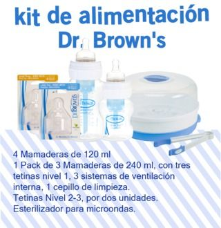 Kit de Alimentación Dr. Browns