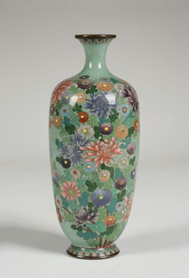 Antique Japanese Cloisonne Vases Best 2000 Antique Decor Ideas