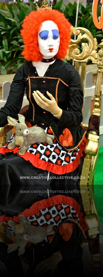 Queen of Hearts - Alice in Wonderland themed event