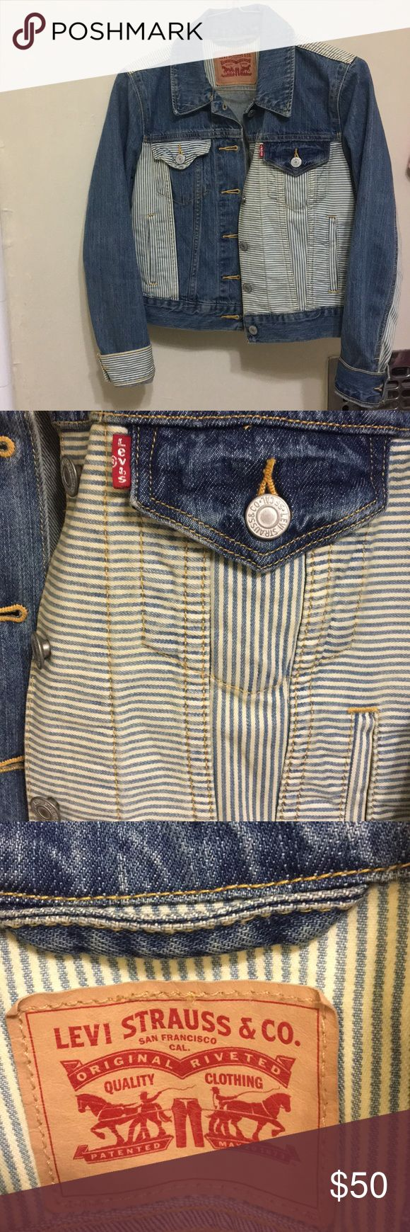 LEVI'S vintage jacket!! cutest levi's jacket ever, great condition, it'll be hard to find any levi's vintage piece for as cheap as this!! Levi's Jackets & Coats Jean Jackets
