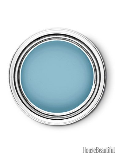 """Behr Tropical Tide 520D-5. -- """"Blue has been a top mover and now greens are edging ahead, and this color is the bridge between them — a beautiful turquoise blue that makes you feel as if you're in a warm, sunny place. It's like an instant getaway."""" —Erika Woelfel"""