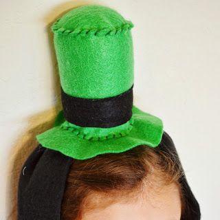Easy goofy hat tutorial
