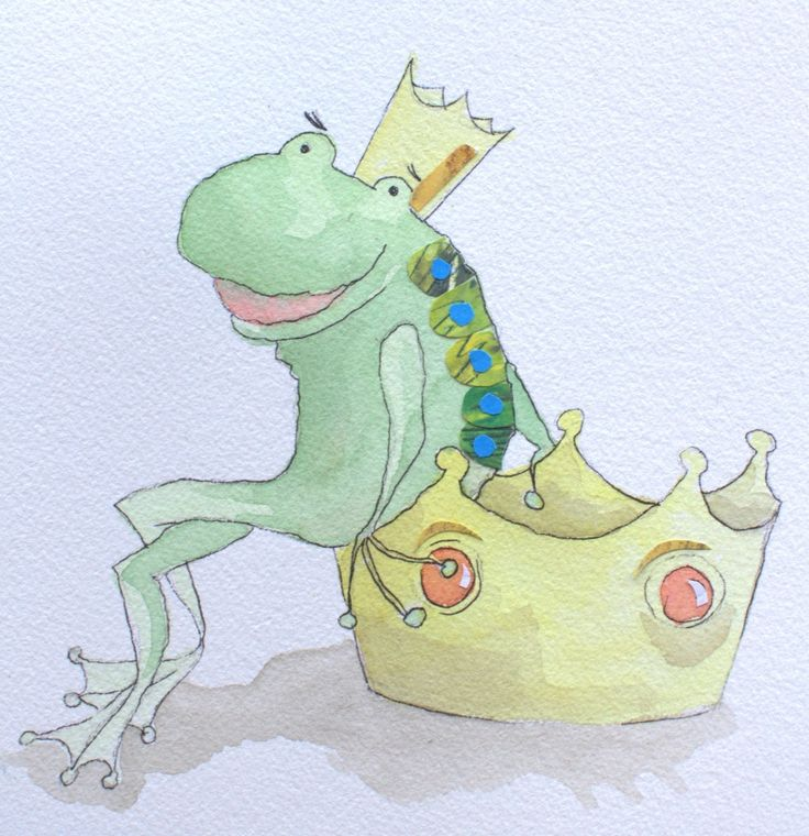 Draw: The Frog Princess | Ruth de Vos: Textile Art