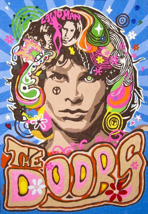 """The Doors  """"People are strange when you're a stranger, Faces look ugly when you're alone"""""""
