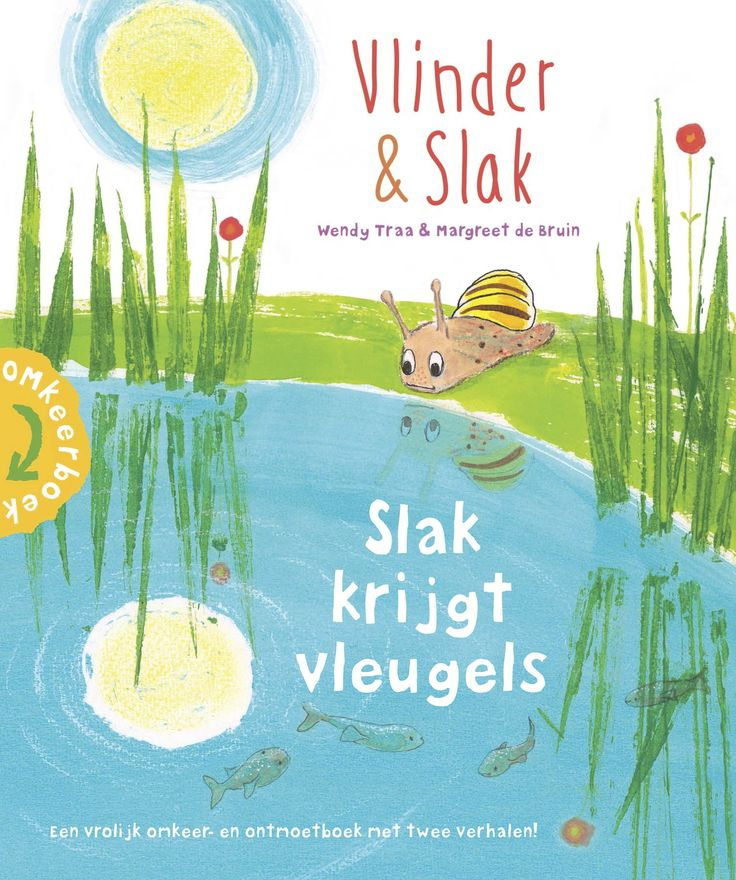 Slak krijgt vleugels?! Hoe dan..? Dat ontdek je in dit omkeer- en ontmoetboek 'Vlinder & Slak' van Wendy Traa (me!) en Margreet de Bruin. Meer info: www.deopenplek.nl