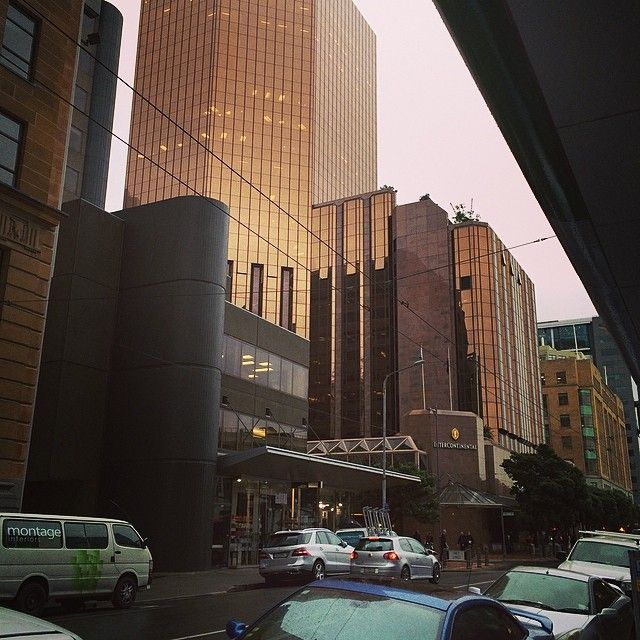 """Our hotel #InterContinental #Wellington"" - zothi1606"