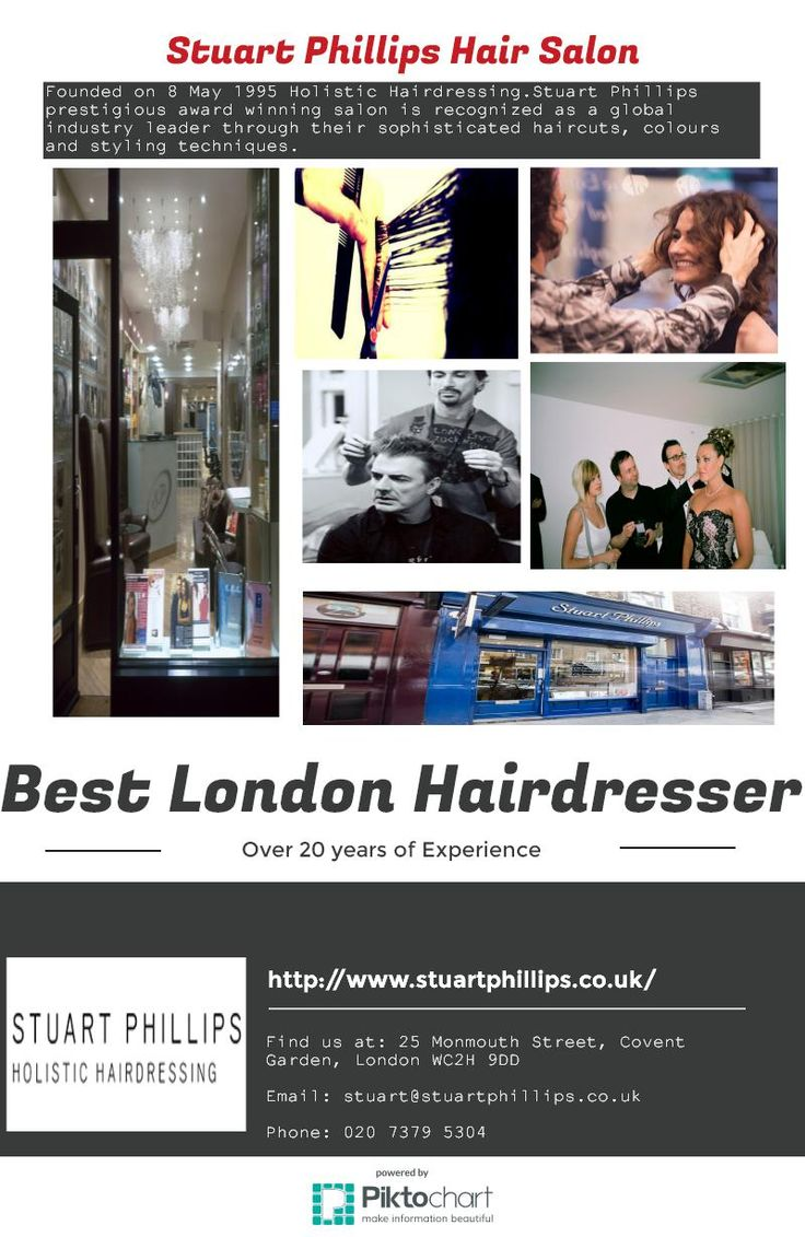 Stuart Phillips Salon Is One Of The Best Hair Salons In London Where You Can Avail
