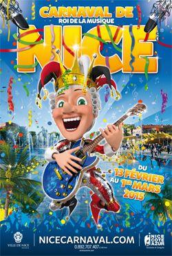Le carnaval de Nice, un des plus grands du monde, une superbe fête visuelle et musicale