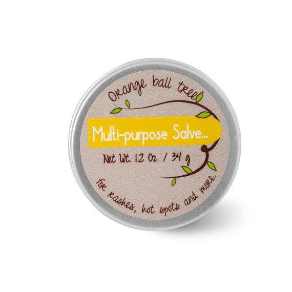Multi-purpose salve Orange ball tree salve skin salve by Loveispvh