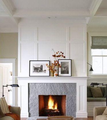 29 Best Board Amp Batten Fireplace Images On Pinterest