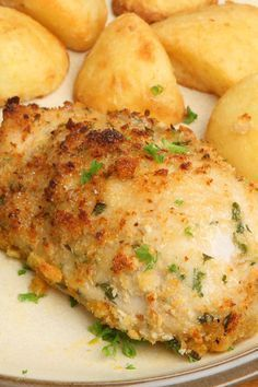 Melt in Your Mouth Baked Garlic Parmesan Chicken Recipe. Use Gluten free bread crumbs to make the dish Gluten Free