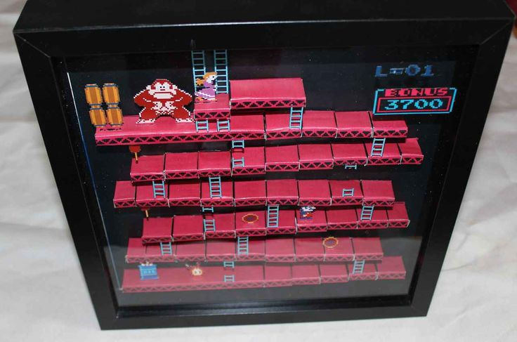 Amazing: Paper Video Game Dioramas | The Mary Sue