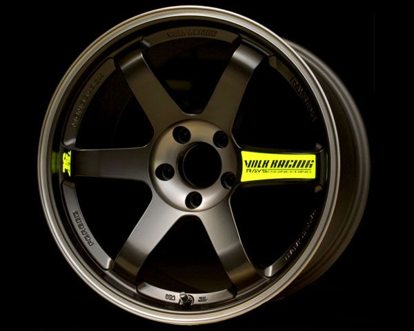 Volk Racing TE37SL Black Edition Wheel 17x9.0 5x114.3