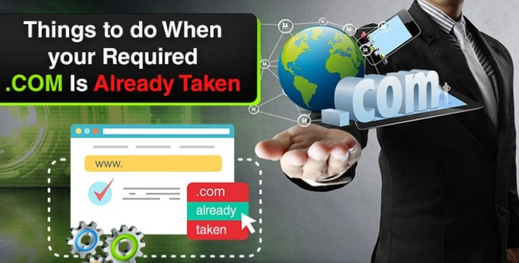 What to do When your Required  Is Already Taken