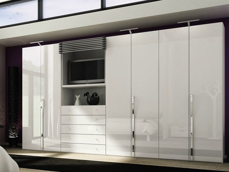 MULTI-FORMA II Wardrobe with built-in TV by Hülsta-Werke Hüls