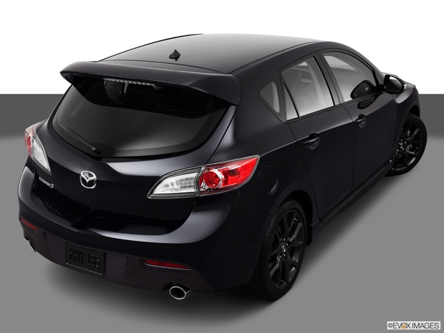 2013 MazdaSpeed3 Hatchback w/black rims!! needs the taillights tinited and it would be perfect for me!