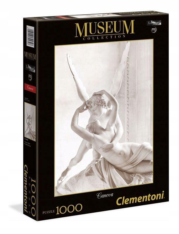 Clementoni Puzzle 1000 Muzeum Amor I Psyche 39432 Cupid And Psyche Clementoni Puzzle Puzzle