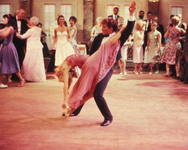 Picture of Patrick Swayze  as Johnny Castle, Cynthia Rhodes  as Penny Johnson  from Dirty Dancing! LOVE!