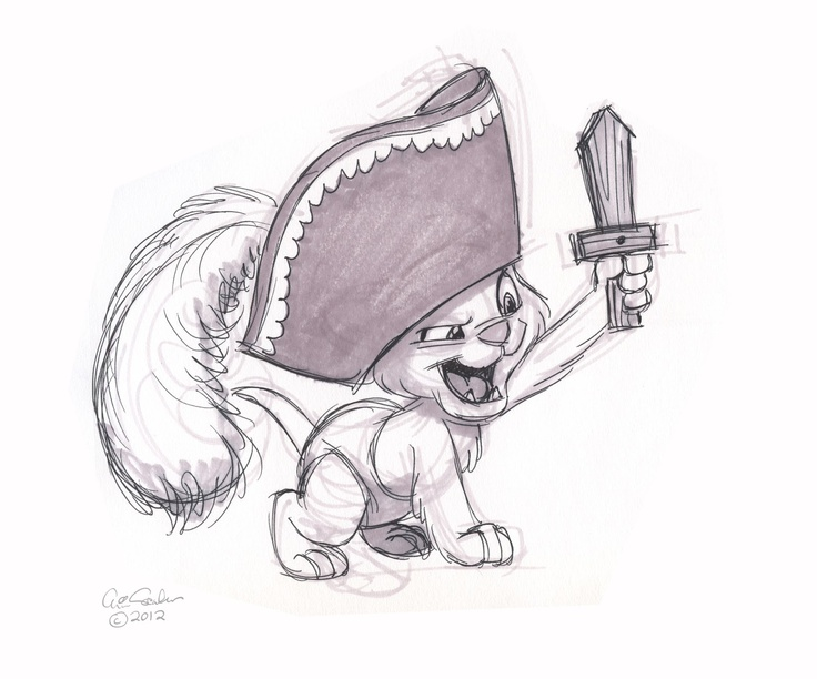 The Ol' Sketchbook: It's a baby! It's a cat! It's a pirate!