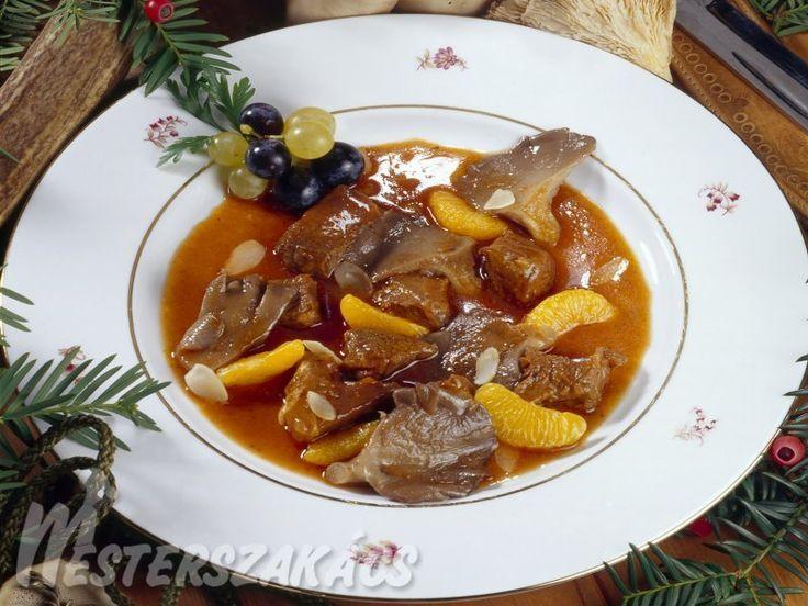 Szarvasragu nagyvadász módra recept