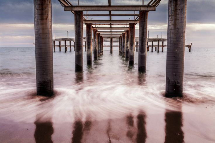 Under the pier by Maratti Z on 500px