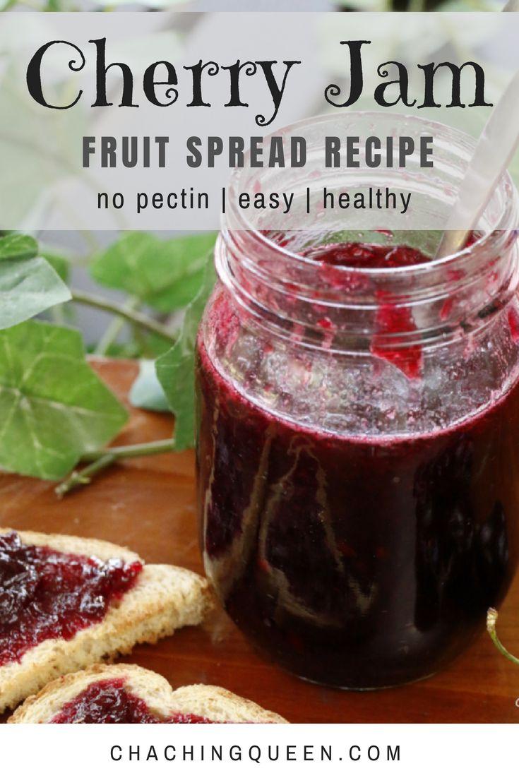 How to: Cherry Jam Recipe without Pectin