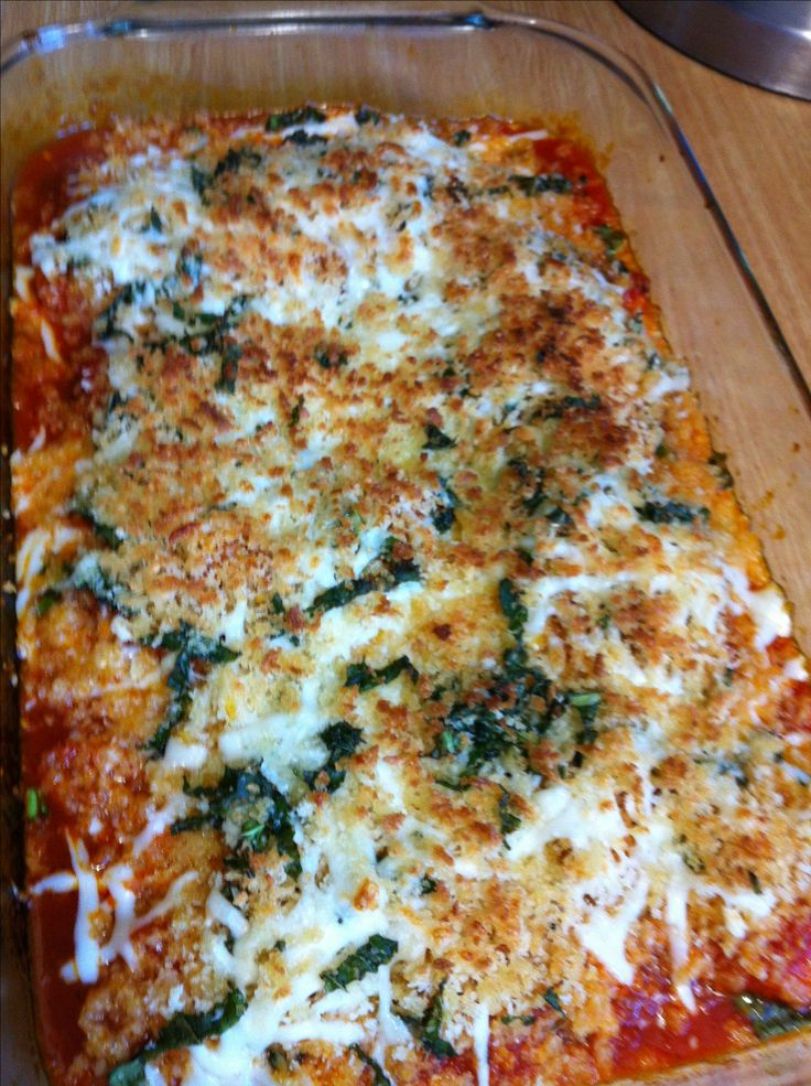 Healthy, low fat chicken Parmesan | I feel like chicken and sometimes ...