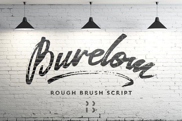 Fonts: Pёtr Bushuev  - Burelom script