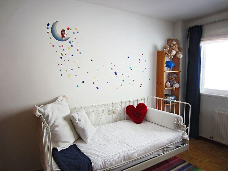"""Mi Pared Favorita'12: """"Lluvia de estrellas para la peque de la casa"""" de Laura : x4duros.com"""