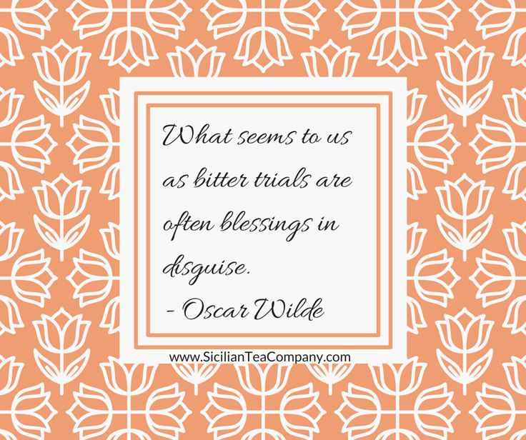 challenges blessings in disguise Learning to see challenges as a blessing in disguise.