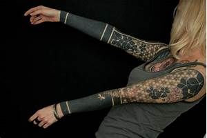 Solid Black Tattoo Sleeve Pictures to Pin on Pinterest - TattoosKid