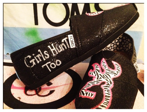 Browning Custom Toms Shoes by CustomTOMSbyJC on Etsy, $95.00