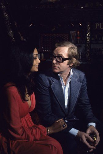Michael Caine and his wife Shakira