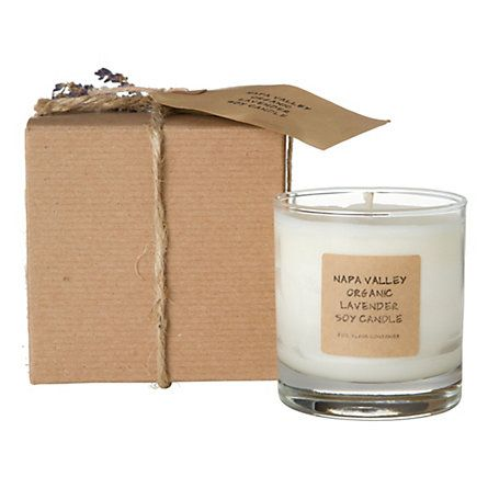 Organic Lavender Soy Candle in House+Home HOME+DÉCOR Candles at Terrain