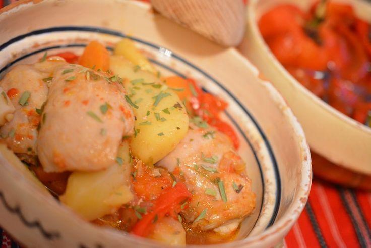 Tocanita cu pui si legume