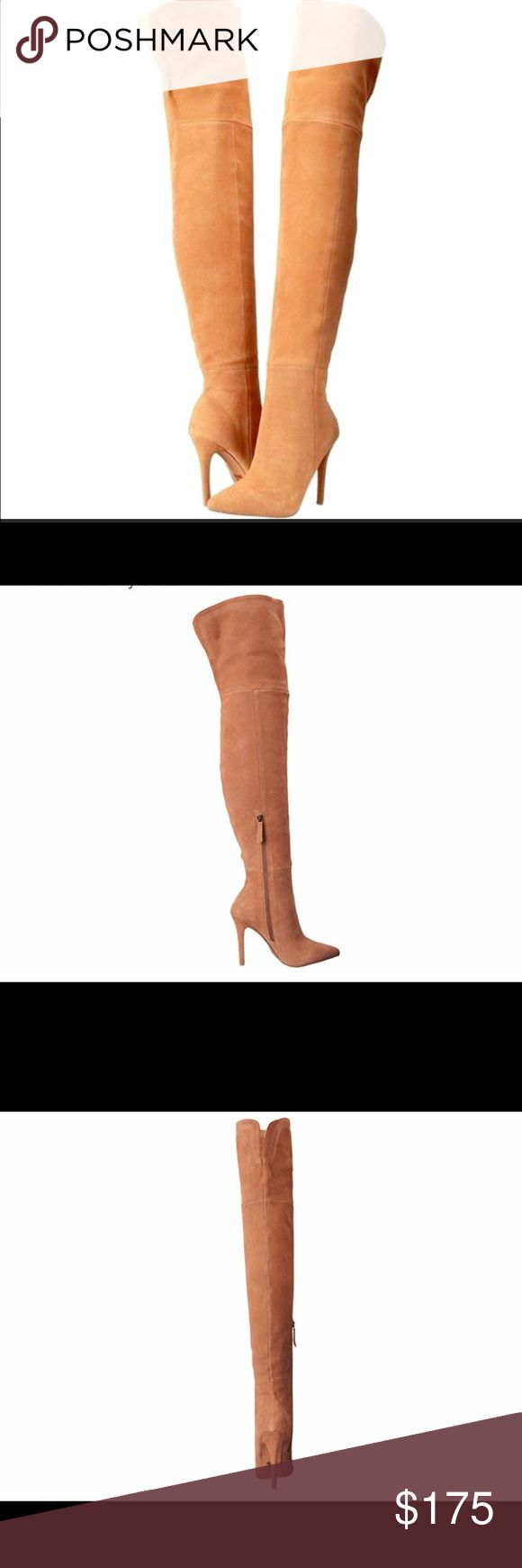 Joes Jeans Huntley Suede Boots New in box, authentic Joes Huntly Over the Knee Boots. These are thigh high, premium quality thick suede. Extremely Rare, sold out everywhere, never got around to wearing them. These are a find, retail for $275. Joe's Jeans Shoes Over the Knee Boots