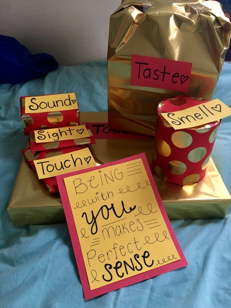 Boyfriend gift. Five sense gift. Christmas. Valentine's Day