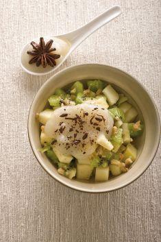 Coppette di mele e kiwi in salsa di pere - Tutte le ricette dalla A alla Z - Cucina Naturale - Ricette, Menu, Diete
