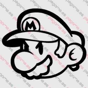 Pegame.es Online Decals Shop  #kids #game #mario_bross #vinyl #sticker #pegatina #vinilo #stencil #decal