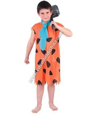 Disfraz de Pedro Picapiedra para niño #Disfraces #Carnaval www.casadeldisfraz.com