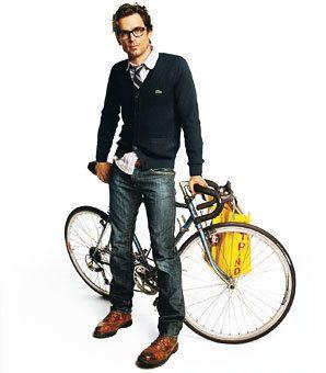Matt Bomer - epitome of nerd chic!