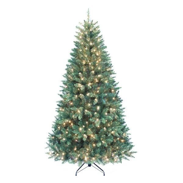 Pre-Lit 350 Clear Lights Point Pine Tree