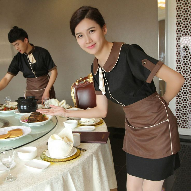 Wholesale Restaurant Uniform Restaurant Waiter Uniform Hotel Waiter Clothes Waiter Wear Waitress Uniform