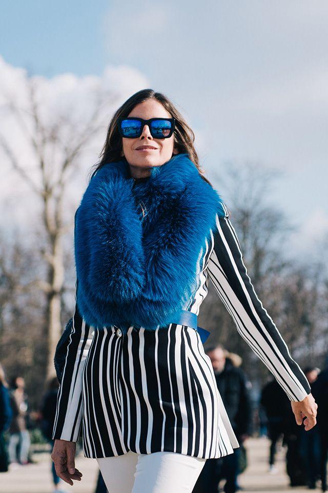Неделя моды в Париже, осень-зима 2016: street style. Часть 5 (фото 13)