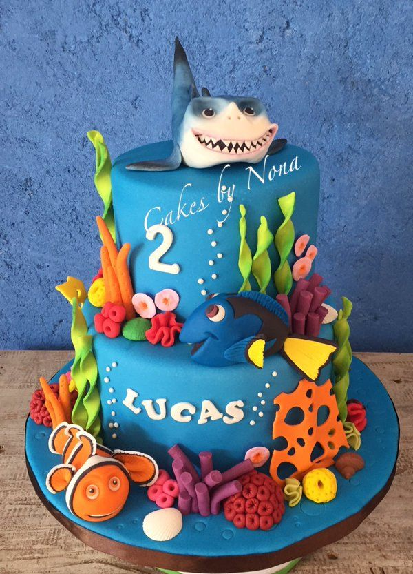 Finding Dory Cake Google Search Recipes Pinterest Cake