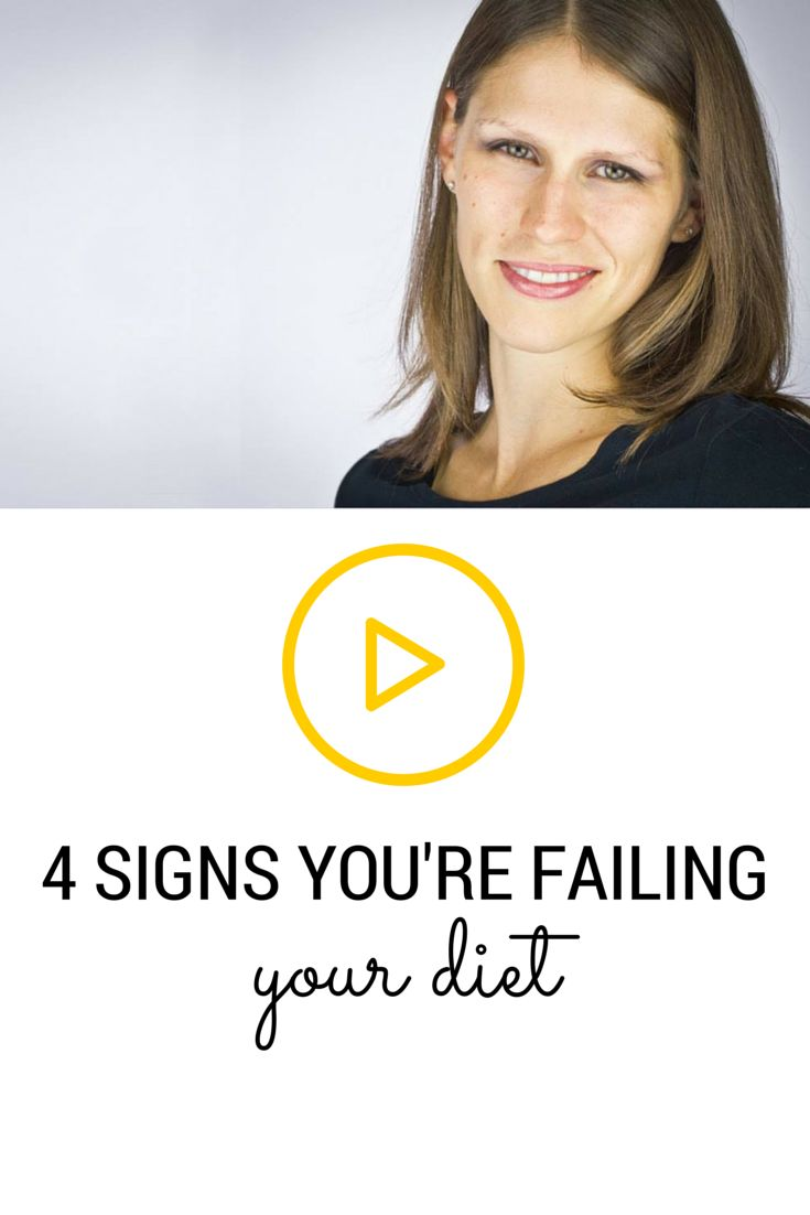 Most people think their diet is failing them, but maybe it's the other way around? Maybe the problem isn't what you're supposed to be doing but what you're actually doing (or NOT doing).