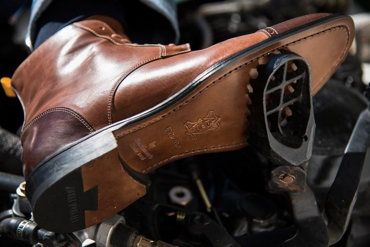 The 2017 Distinguished Gentlemans Ride : The Gentleman's Boot - Undandy