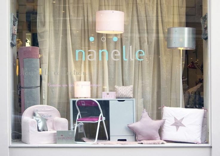 vitrine Nanelle 2013, 2013, vitrine nanelle, boutique Nanelle, boutique Paris