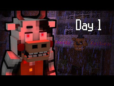 MINE Nights at Freddy's 2 - FACTORY | Day 1 | FNAF Minecraft Roleplay - YouTube