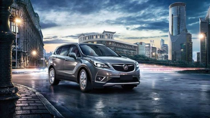 2019 Buick Envision Debuts in China with Hybrid Model